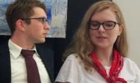 Melissa Dawson and Wiliam Johnston